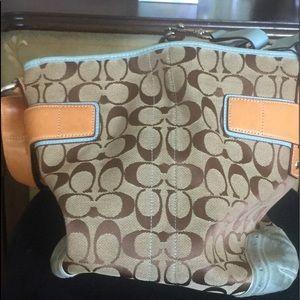 Coach Double Strap Bag